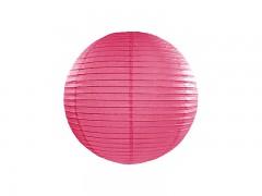 Lampion sytě růžový 25 cm
