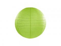 Lampion světle zelený 25 cm