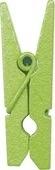 Kolíček mini světle zelený 24 ks