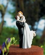 Figurka na svatební dort Láskyplný pohled do očí