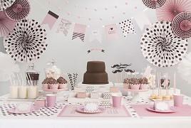 Rozety sweets kolekce růžová 3 ks