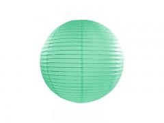 Lampion mátově zelený 25 cm
