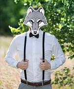 Maska vlk na svatební focení