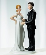 Figurka na svatební dort Čekáme miminko!