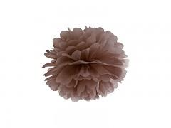 Pom-pom hnědý 25 cm