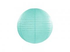Lampion mátově modrý 25 cm