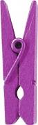 Kolíček sytě purpurově fialový 12 ks