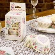 Košíčky na muffiny ivory svatební motiv 100 ks