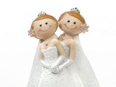 Figurka na svatební dort Nevěsty