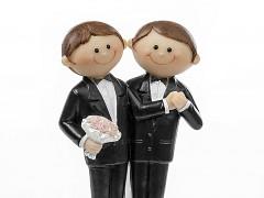 Figurka na svatební dort Ženichové