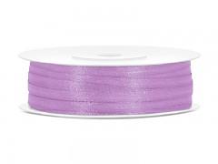 Stuha saténová fialová lila 3 mm x 50 m