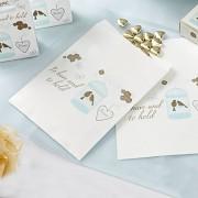 Papírové sáčky na sladkosti svatební motiv