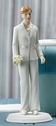 Figurka na svatební dort Nevěsta v obleku