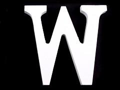 Písmeno W