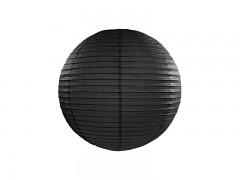 Lampion černý 25 cm
