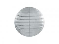 Lampion šedý 25 cm