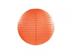 Lampion oranžový 25 cm
