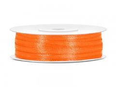Stuha saténová oranžová 3 mm x 50 m