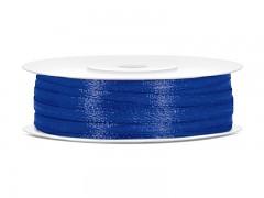 Stuha saténová královsky modrá 3 mm x 50 m