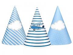 Party kloboučky s letadlem 6 ks