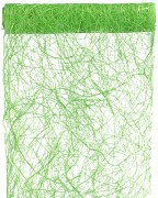 Šerpa na stůl abaka zelená 30 cm x 5 m