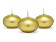 Plovoucí svíčka zlatá