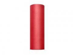 Tyl 15 cm x 9 m červený