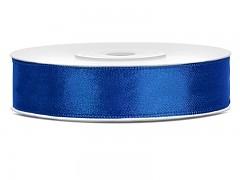 Stuha saténová královsky modrá 12 mm x 25 m