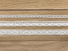 Sada krajek bílá 3 ks x 1,5 m