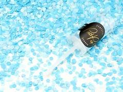 Push pop konfety tyrkysově modré
