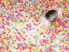Push pop konfety barevné