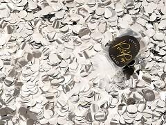Push pop konfety stříbrné