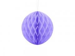 Honeycomb koule světle fialová 20 cm