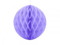 Honeycomb koule světle fialová 30 cm