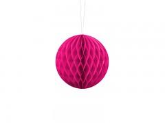 Honeycomb koule sytě růžová 10 cm
