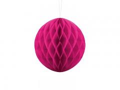 Honeycomb koule sytě růžová 20 cm