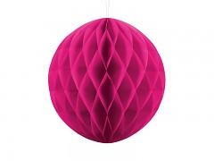 Honeycomb koule sytě růžová 30 cm