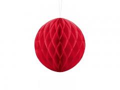 Honeycomb koule červená 20 cm