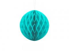 Honeycomb koule tyrkysově modrá 20 cm