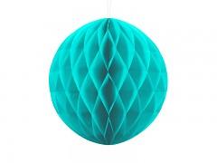 Honeycomb koule tyrkysově modrá 30 cm
