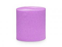 Krepový papír světle purpurově fialový 5 cm x 40 m