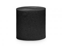 Krepový papír černý 5 cm x 40 m