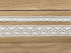Sada krajek bílá 2 ks x 1,5 m