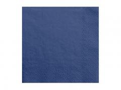 Ubrousky tmavě modré 20 ks
