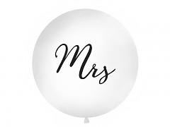 Balón bílý Mrs ø 1 m