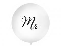Balón bílý Mr ø 1 m