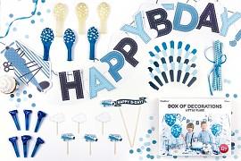 Kolekce dekorací HAPPY B-DAY Letadla
