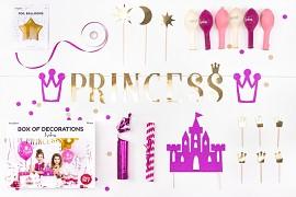Kolekce dekorací Princess