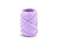 Rafia stuha světle fialová lila 5 mm x 10 m