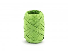 Rafia stuha zelená 5 mm x 10 m